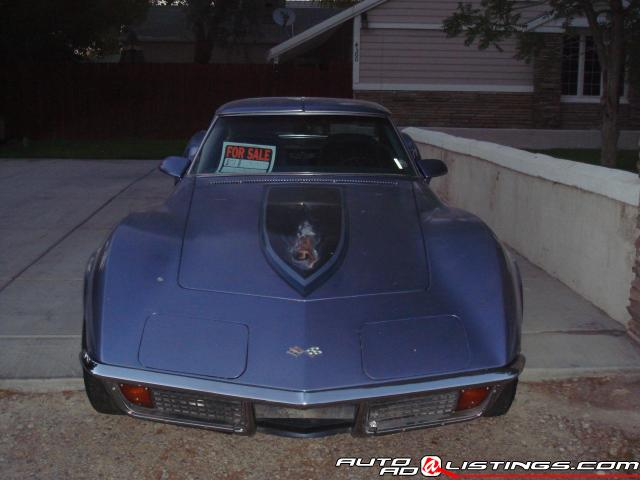 1972 Chevrolet Corvette Base